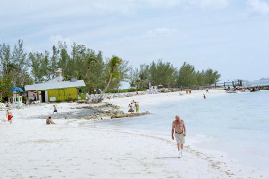 Nassau, Cook Islands: Beach at Blackbeards Cay