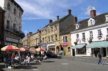 Cheap Street, Sherborne, Dorset