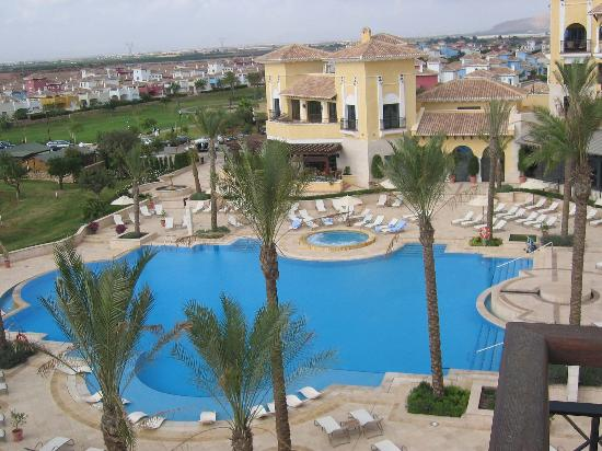 InterContinental Mar Menor Golf Resort & Spa: View from balcony