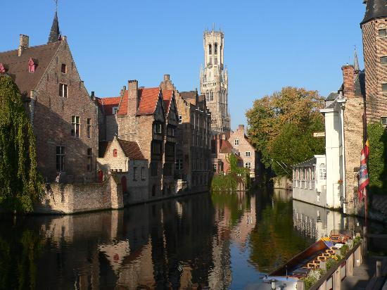 Bruges during the day.