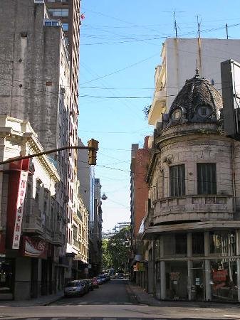 Victory Hotel,B.Aires: Calle Maipu/Calle Paraguay,background:Subway station.