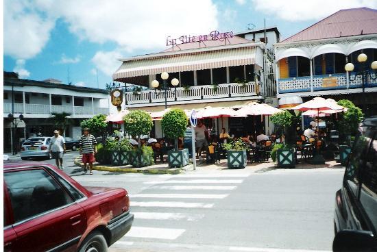 Hotel Mont Vernon: resto à Marigot