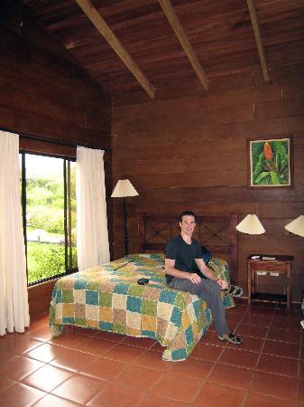 Hotel El Silencio del Campo : Inside our cabin