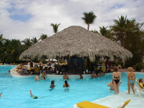 Catalonia Bavaro Beach Golf Resort Swim Up Pool Bar