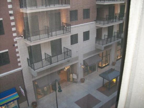 Hilton Promenade At Branson Landing Mall View From Hotel Window