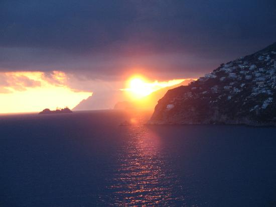 Hotel  Due Torri: Sunset at Positano