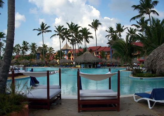 Pool Beds pool & beds - picture of punta cana princess all suites resort
