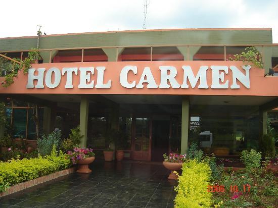 Hotel Carmen Iguazu: Frente del Hotel
