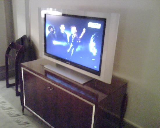 Hotel Kunlun: Large flat screen TV