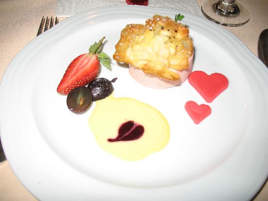 Hotel Europa: Dessert at one of the dinners