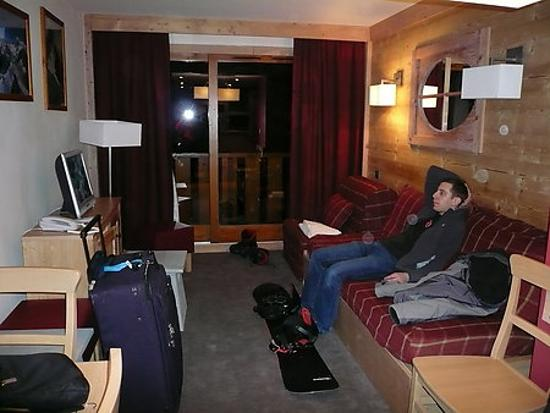 Pierre & Vacances Premium Residence Les Crets: Living room