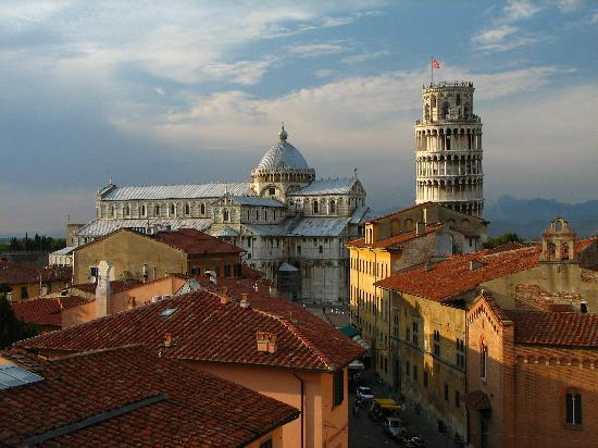 Pisa, Italy: View from Grand Hotel Duomo