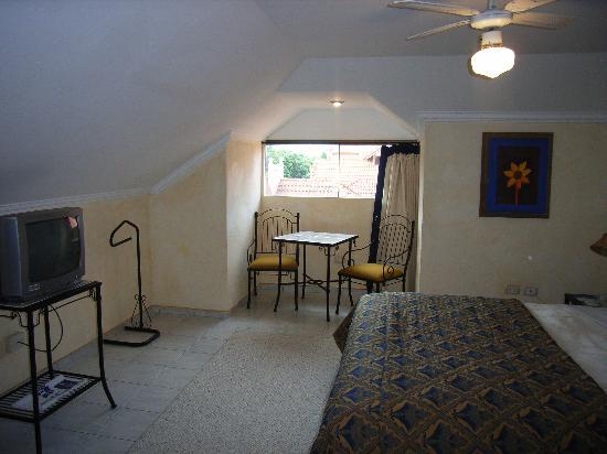 Buganvillas Hotel Suites & Spa: Hotel Buganvillas, Bedroom on second floor of two floor appartment