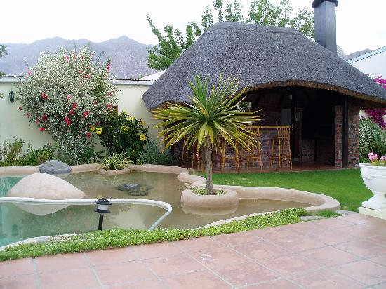 John Montagu Guest House: Pool & bar area