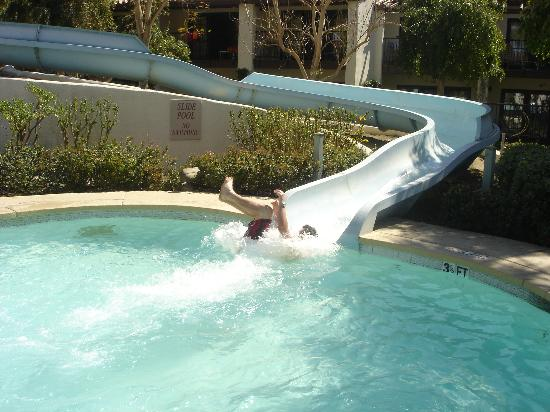 Palm Springs Hotels With Waterslides Palm Springs Swimming Pool Water Park Omni Rancho Las