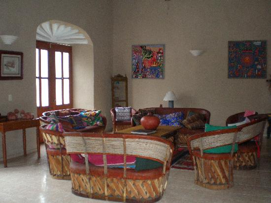 Casa Quetzal : Salle commune