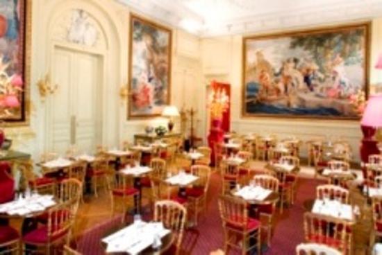 Musée Jacquemart-André : the café