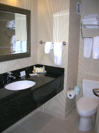 Salem Waterfront Hotel & Suites: Bathroom