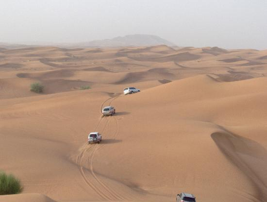 K-Porte Inn Hotel: desert safari in the jeeps
