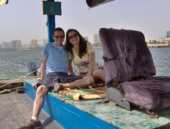 K-Porte Inn Hotel: an abra to ourselves on Dubai creek