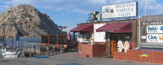 Giovanni's Fish Market & Galley : Great Location on the Water!