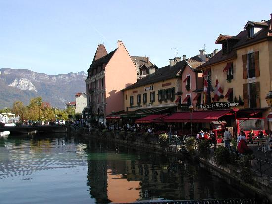 Old part of Annecy