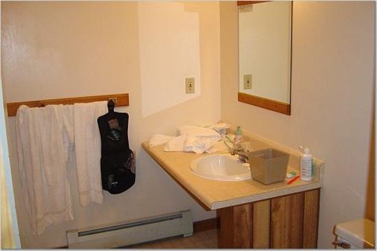 Mountain Sports Inn: Bathroom