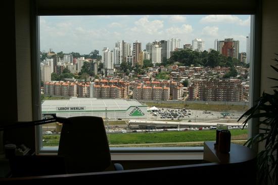 Hilton Sao Paulo Morumbi : View From Window