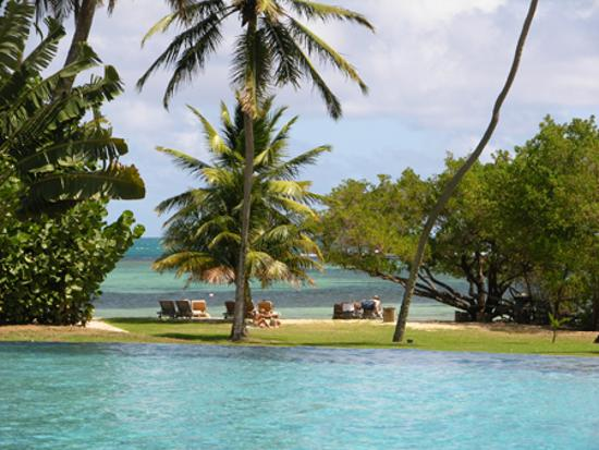 Le François, Martinique: Piscine Cap Est Lagoon