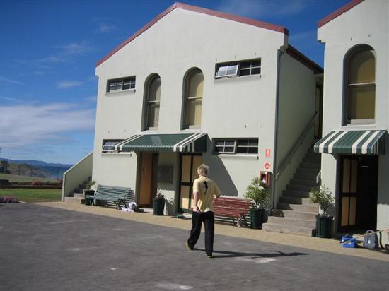 Stanley Village Motel: front of Stanley Village