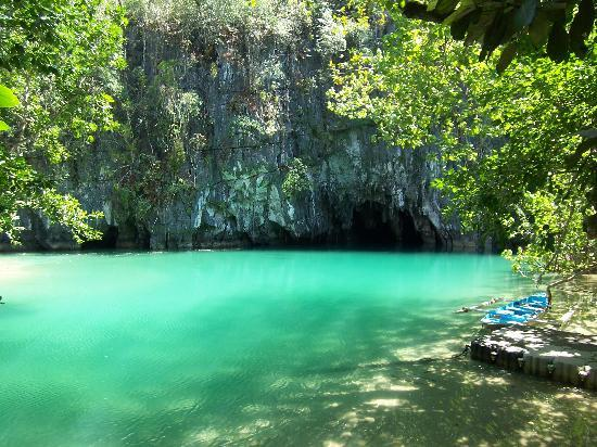 Puerto Princesa, Filippinerna: Underground River