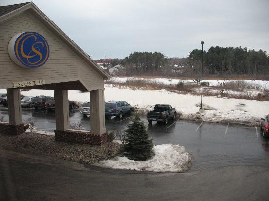 Holiday Inn Express Biddeford: The view outside the window