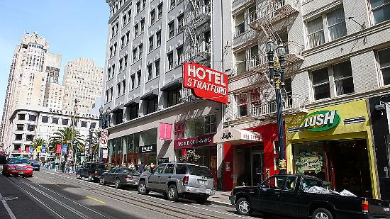 union square a few feet from the hotel picture of hotel. Black Bedroom Furniture Sets. Home Design Ideas