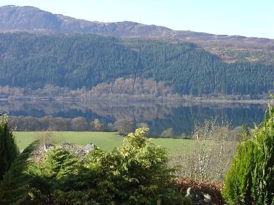 View onto Loch Ness