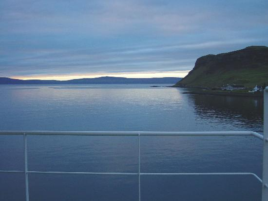 Loch Ness, UK: On the Ferry to the Isle of Harris, Scotland