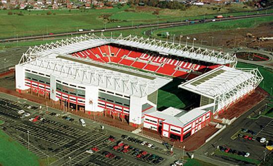 Stoke-on-Trent, UK: Brittannia stadium