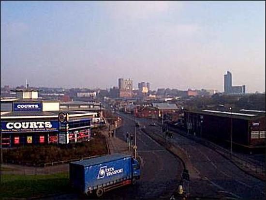 Stoke-on-Trent, UK: city centre