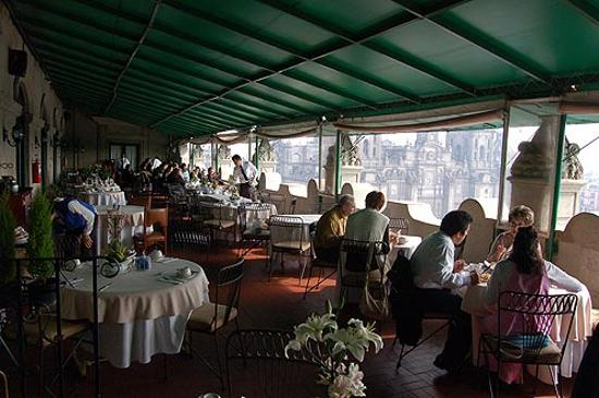 Best Western Hotel Majestic: Rooftop restaurant