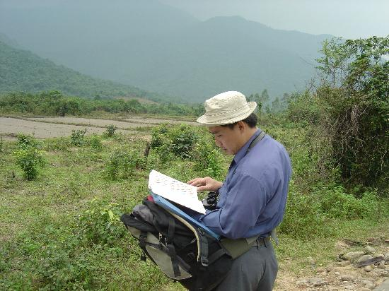 Bach Ma National Park: birding near visitor center with local guide