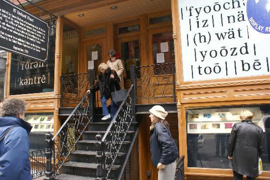 Tenement Museum Photo