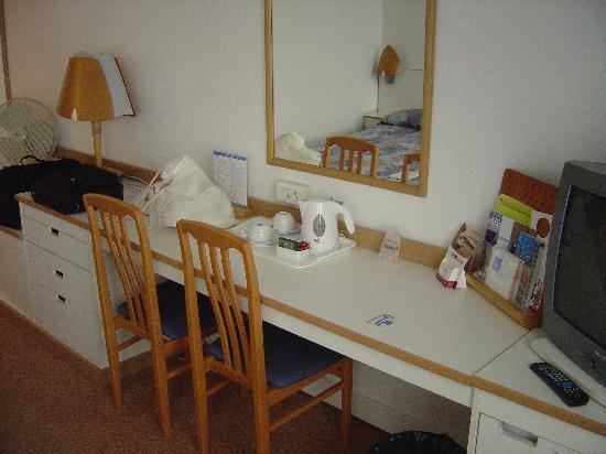 Novotel Poznan Malta : Desk is comfortable