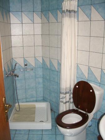 Arachova, Grecia: bathroom
