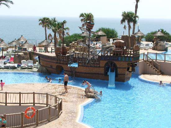 Holiday Village: Pirate Ship at Beach Club