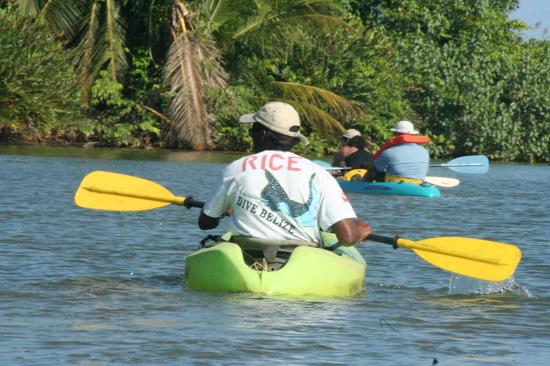 Hamanasi Adventure and Dive Resort: River Canoeing/Kayaking