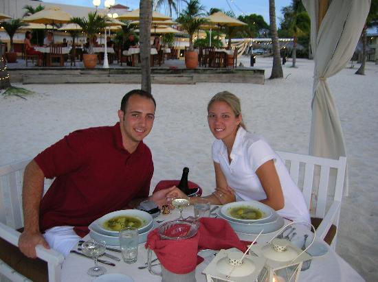 Bucuti & Tara Beach Resort Aruba : Dinner on the Beach