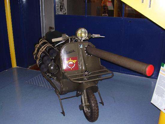Piaggio Museum: French Army Scooter