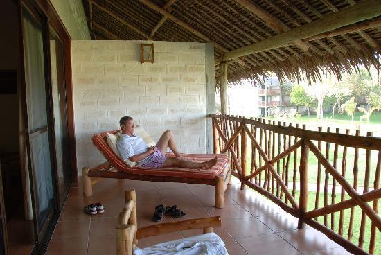 Baobab Beach Resort & Spa: Our Balcony