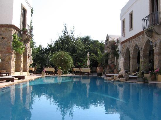 Adahan Hotel : The pool area
