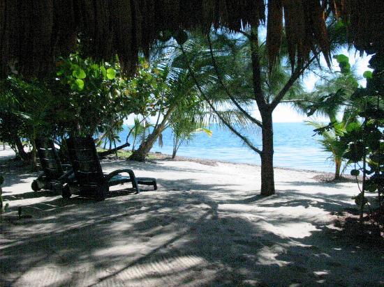 Colibri Beach Villa: Shade and relaxation