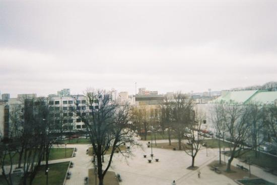 Novotel Vilnius: The view from the room